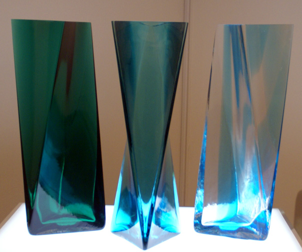 Set of three vases by Tadao Ando