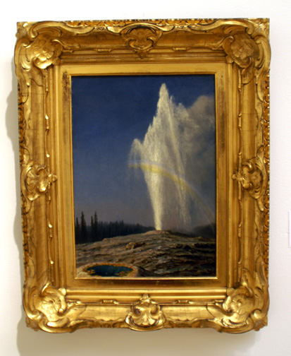 Old Faithful by Bierstadt