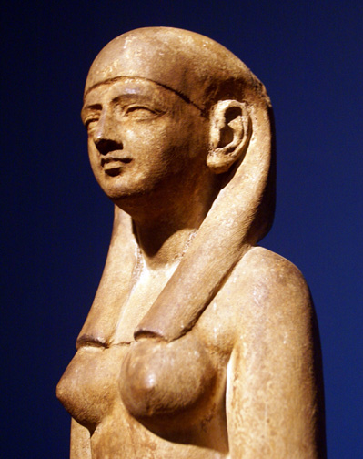 Detail of Egyptian woman