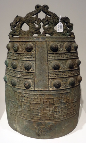 Large bronze bell from Eastern Zhou Dynasty