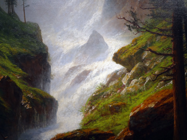 Detail of Bierstadt