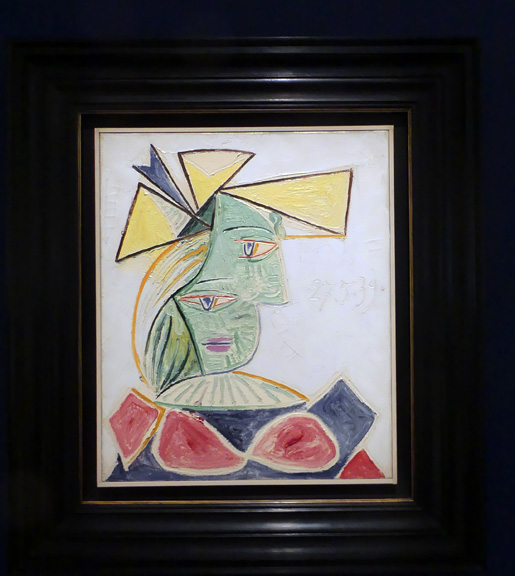 Picasso woman 21