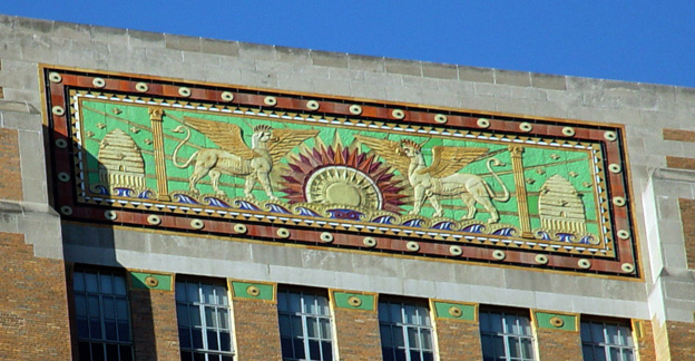 Roof frieze
