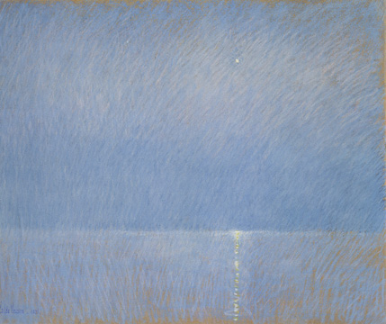 """The Evening Star"" by Hassam"