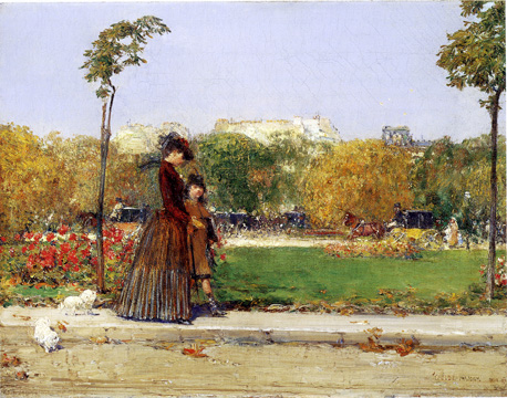 """In the Park"" by Hassam"