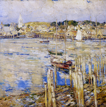 """Glouchester"" by Hassam"