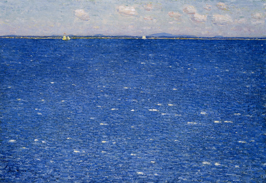 """The West Wind, Isles of Shoals"" by Hassam"