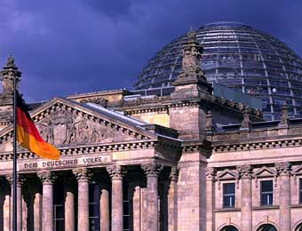 Foster's Reichstag's dome in Berlin