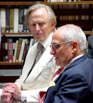 Tom Wolfe and Robert A. M. Stern