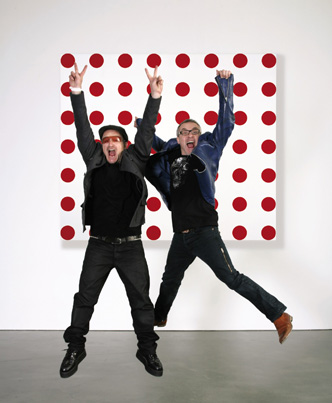 Bono and Damien Hirst