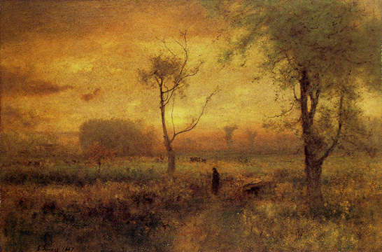 """Sunrise"" by George Inness"