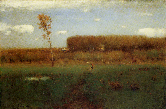 """October Noon"" by George Inness"
