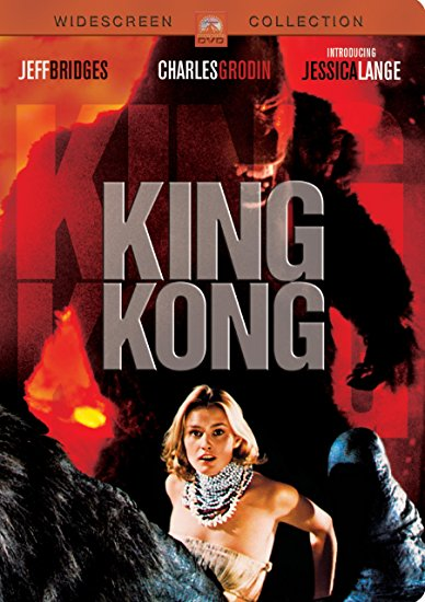 King Kong 1976 DVD