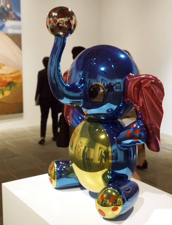 Art Museums Jeff Koons At The Whitney Museum Of American 2014