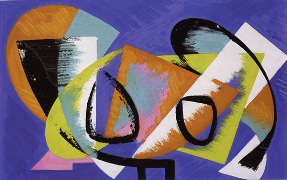 """Untitled"" by Lee Krasner"