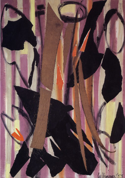 """Shooting Gold"" by Lee Krasner"
