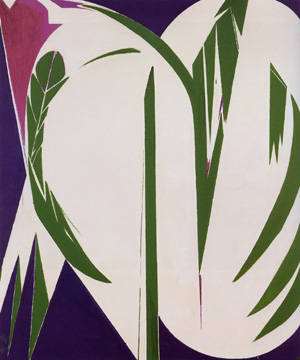 """Rising Green"" by Lee Krasner"