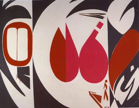 """Mysteries"" by Lee Krasner"