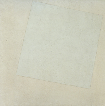 """Suprematist Composition: White on White"" by Malevich"