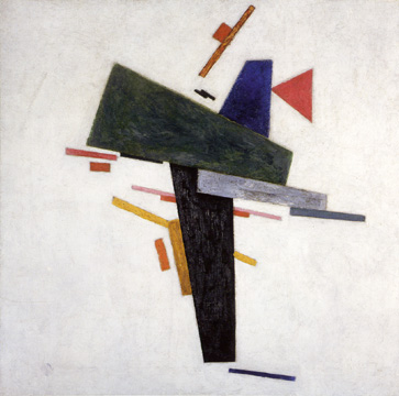 """Untitled (Suprematist Composition)"" by Kazimir Malevich"