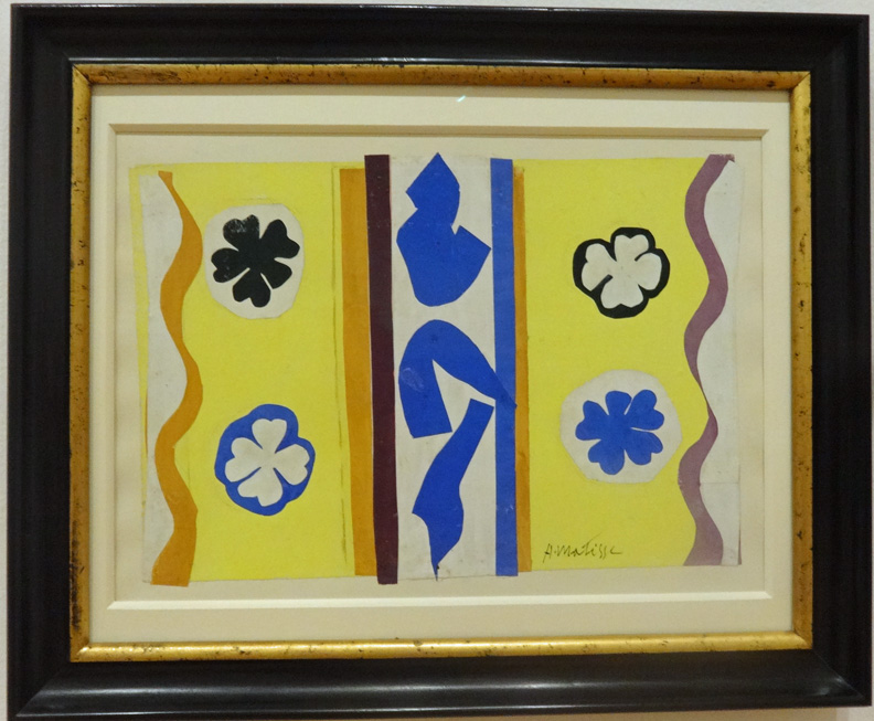 The Four Rosettes with Blue Motifs by Matisse
