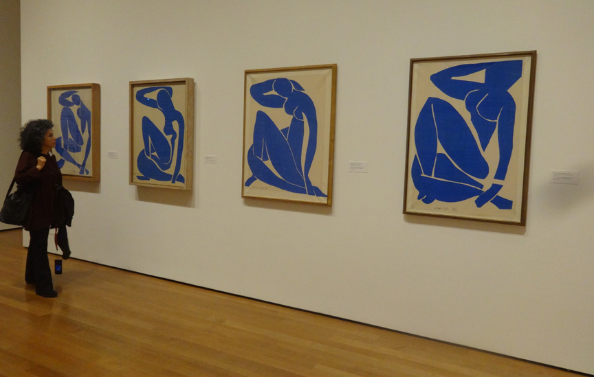 Blue Nudes by Matisse