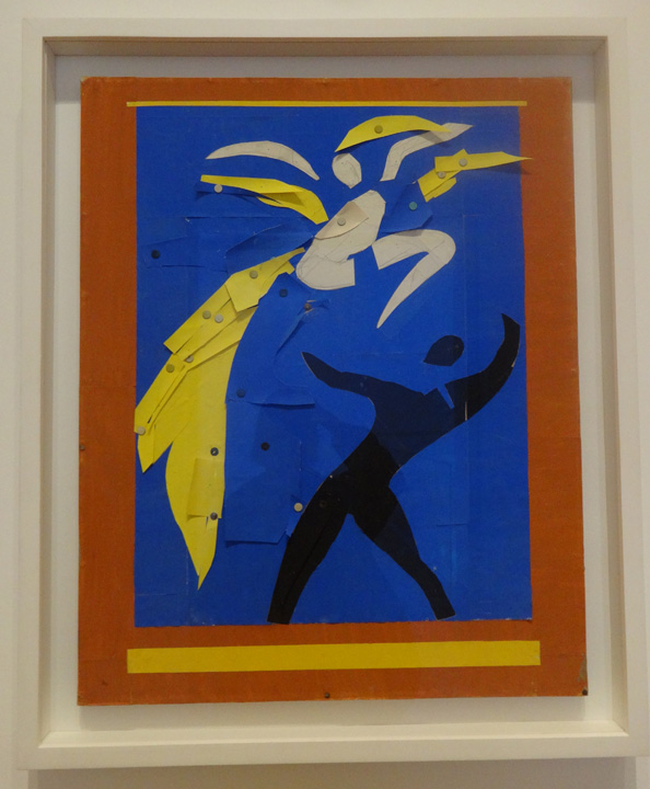 Two Dancers by Matisse
