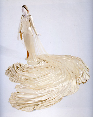 1930 wedding ensemble by Callot Soeurs