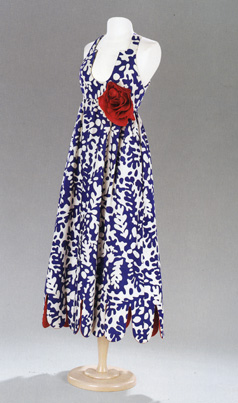 Evening dress, circa 1965, by Geoffrey Beene