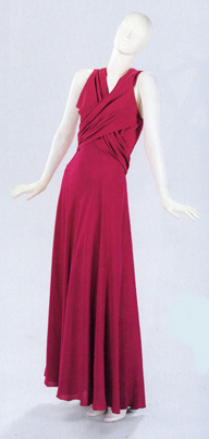 Evening ensemble, 1935, by Madeleine Vionnet