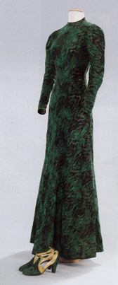 Dinner ensemble by Elsa Schiaparelli