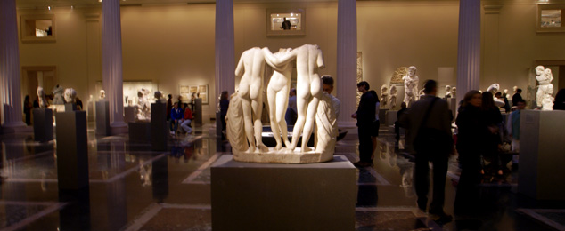 Art Museums The Reopening Of The Greek And Roman