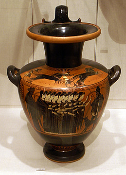 Greek Attic water jug