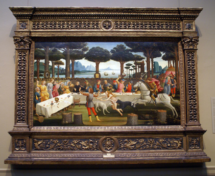 """Banquet in the Pinewoods"" by Botticelli"