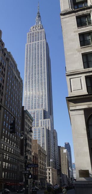 View from Madison Avenue and 34th Street