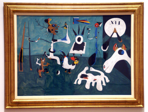 """The Farmer's Meal"" by Miró"