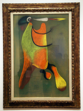 """The Man with a Pipe"" by Miró"