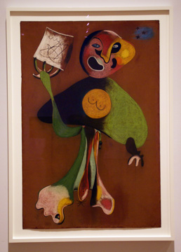 """Woman (Opera Singer)"" by Miró"
