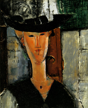 """Madam Pompadour"" by Amedeo Modigliani"