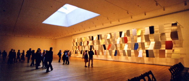 """Sculpture for a Large Wall"" by Ellsworth Kelly"