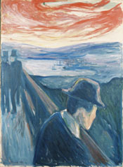 """Despair"" by Edvard Munch"