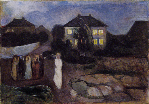 """The Storm"" by Munch"