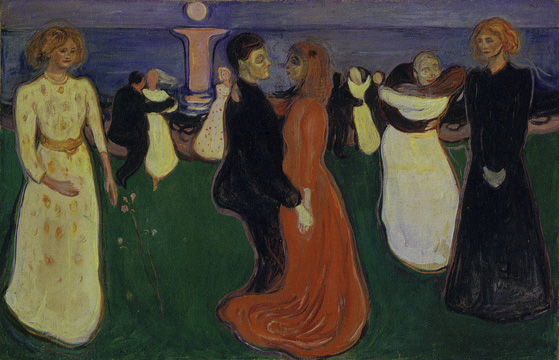 """The Dance of Life"" by Munch"