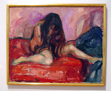 """Weeping Nude"" by Munch"