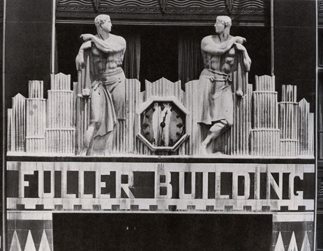 Fuller Building frieze