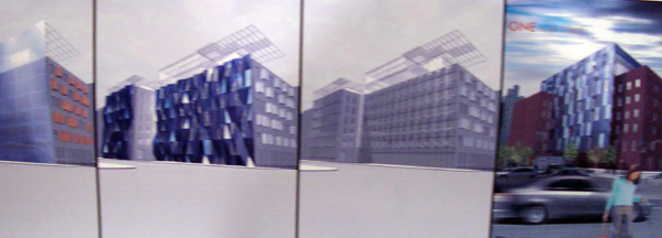 More design studies for 1 York Street