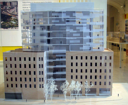 Model of 1 York Street project