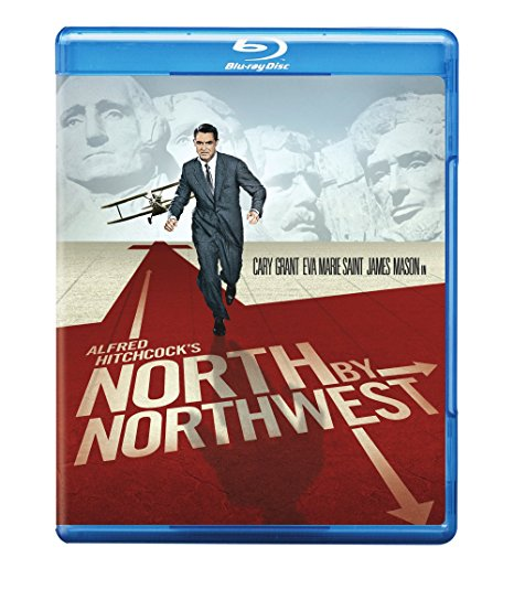 Cover of blue-ray for North by Northwest