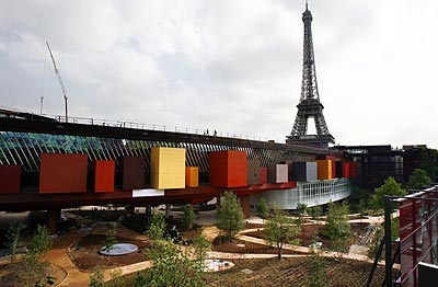 Quai Branly Museum in Paris
