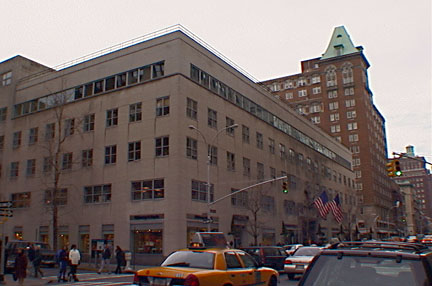Former Parke-Bernet building on Madison Avenue at 76th Street